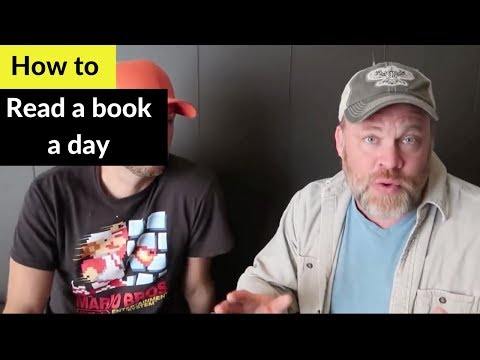 How to Read a Book a Day - Chris Record 1 Book a Day // Read Fast
