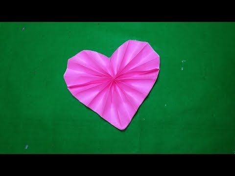 Origami heart#How to make origami paper heart step by step#DIY-paper Craft