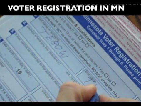 Registering Tim Tebow and Tom Brady to Vote in Minnesota