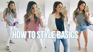 THE BEST BASICS AND HOW TO STYLE FOR SUMMER!  ALEXANDREA GARZA