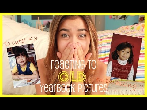 Reacting to Old Yearbook Pictures