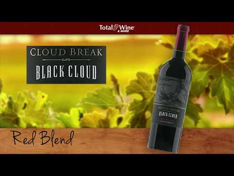 Cloud Break Red Blend Black Cloud Wine