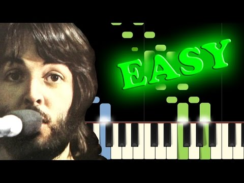 THE BEATLES - LET IT BE - Easy Piano Tutorial