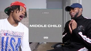 J. Cole - Middle Child (Official Audio) - REACTION/BREAKDOWN