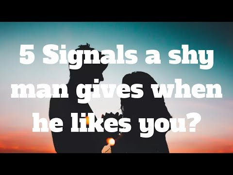 5 Signals a shy man gives when he likes you
