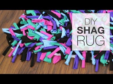 DIY Shag Rug Tutorial