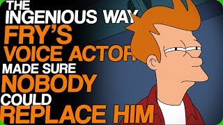 The Ingenious Way Fry's Voice Actor Made Sure Nobody Could Replace Him (Irreplaceable Voice Actors)