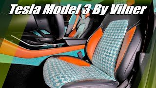 Tesla Model 3 Interior Tuning By Vilner