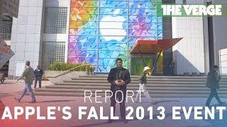 iPad Air, Mac Pro, and lots of Retina: Apple's fall 2013 event