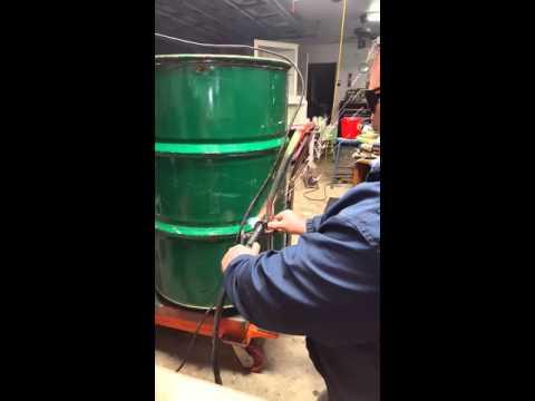 Chinese plasma cut 50 F cutting 55 gallon drum
