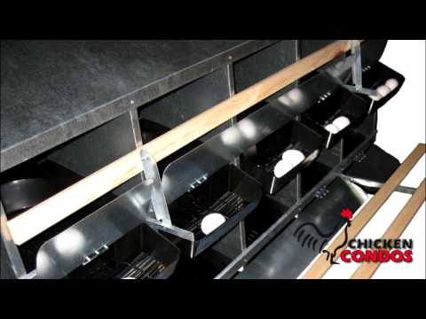 Chicken Condos-Roll Out Nesting Box
