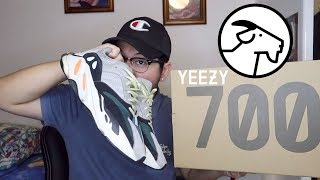 71938d5f7 ADIDAS YEEZY BOOST 700 WAVE RUNNER UNBOXING + On Feet! (GOAT)