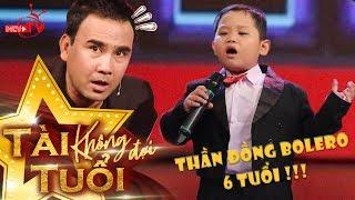 Thần đồng Bolero 6 tuổi Quốc Huy hát Tình Cha khiến Quyền Linh - Lê Lộc - Quang Bảo