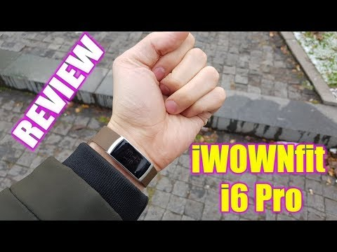 iWOWNfit i6 Pro Unboxing&Hands on/Fitness Wristband with Heart Rate monitor(Tutorial&Review)