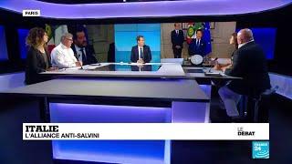 LE DÉBAT - Italie : l'alliance anti-Salvini