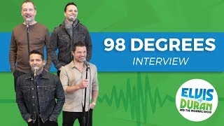 98 Degrees Chats About Their New Christmas Album Plus Touring All These Years Later