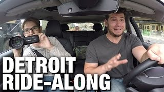 Detroit Real Time Ride-Along
