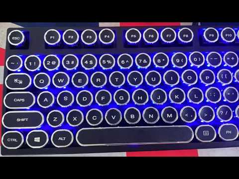 Retro Vintage  classical  typewriter Steampunk keycaps for Cherry mx keyboard