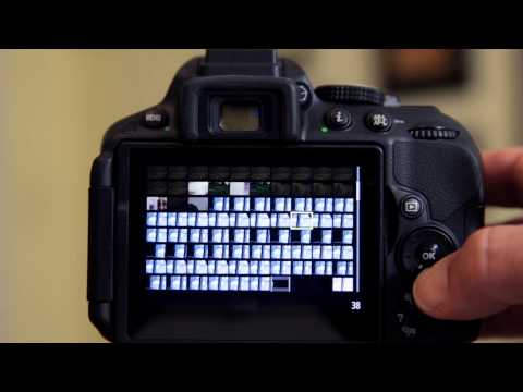 Nikon D5300 - Interface Tour and Aperture Change in Live View