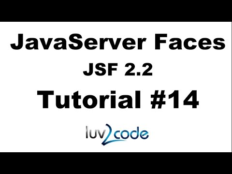 JSF Tutorial #14 - Java Server Faces Tutorial (JSF 2.2) - JSF Forms and Drop-Down Lists - Part 2