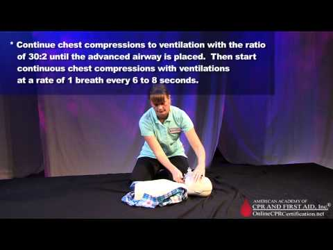 CPR Training Video--Child Healthcare Provider - One Rescuer