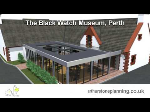 The Black Watch Museum Perth Scotland - Planning Permission and Listed Building Consent