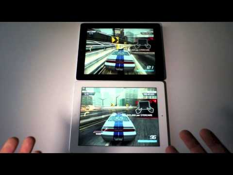 iPad 4 vs. iPad 3 - il videoconfronto