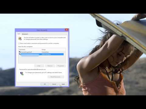 How to bypass the Windows 8 log in screen