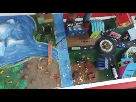 Working science model of pollution
