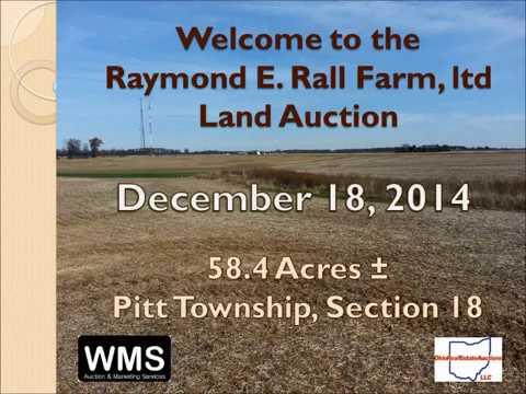 Multi-Parcel Auction Presenter - WMSOHIO.COM Ohio land Auction Company