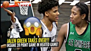 Jalen Green GETS HEATED & Then Drops 39 POINTS!! The Unicorn Takes OVER In CRAZY Overtime Game!