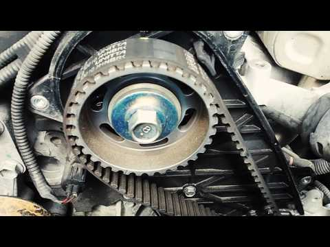 How to change the timing belt on a Toyota Hilux 3.0l D4D