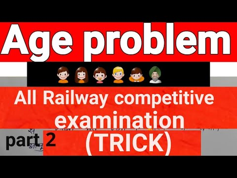 all railway competitive examination|age problem|Hindi