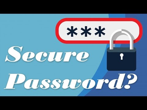 [Hindi] Is My Password Safe ? How to make a Secure Password? कैसे एक सुरक्षित पासवर्ड करें?