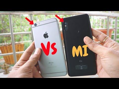 Crazy Image Stabilisation Test   EIS VS OIS   Redmi Note 5 Pro VS IPHONE