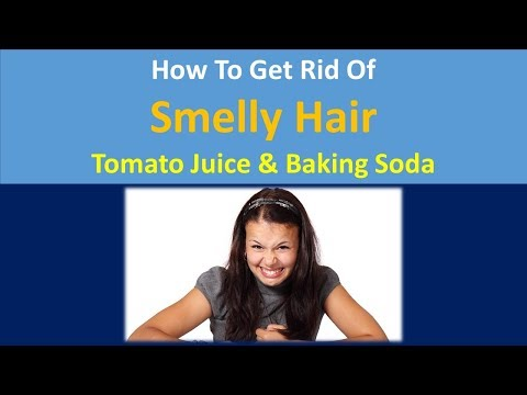 how to get rid of smelly hair | Tomato Juice & Baking Soda