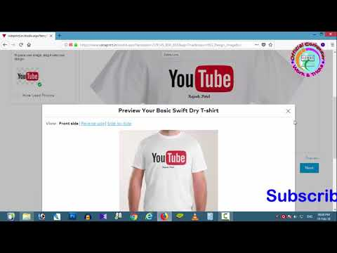 How To Get Your Youtube Channel Name T Shirt In Hindi Full Guide