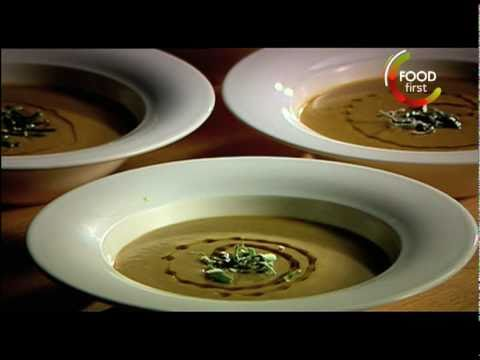 How to cook Roast Chestnut, Parsnip and Apple Soup - Gordon Ramsay Recipe - easy to cook