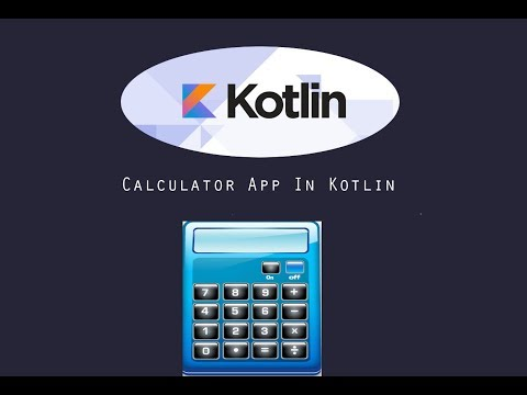 Calculator App  in Android Studio (Kotlin Programming)