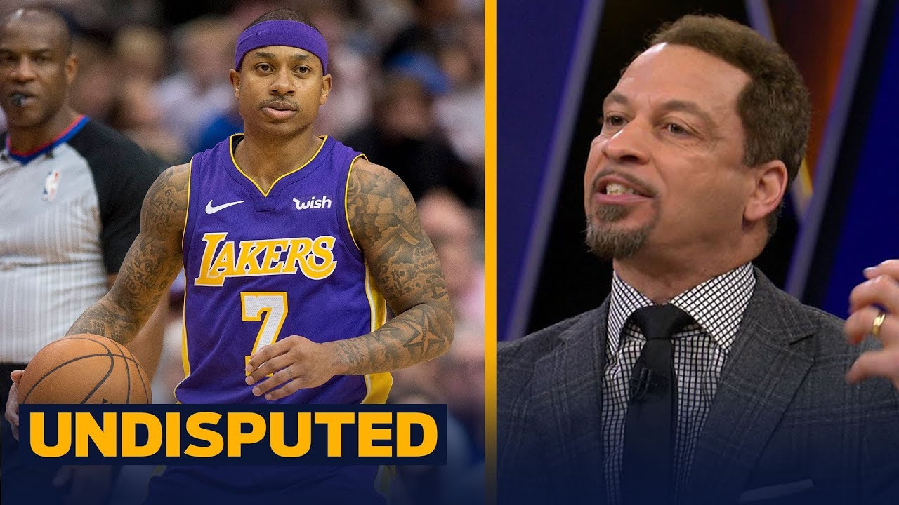 Chris Broussard on Isaiah Thomas' Los Angeles Lakers debut   UNDISPUTED