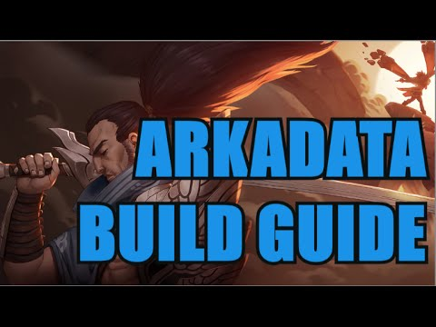ARKADATA YASUO BUILD GUIDE- League of Legends (Patch 6.11)