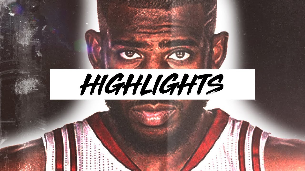 Best Chris Paul Highlights 17-18 Season | Clip Session