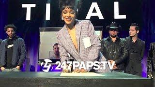 (New) Rihanna JayZ Beyonce Kanye West Nicki Minaj Make History with the Tidal App 03-31-15