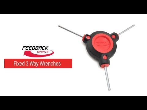 Feedback Sports 3 Way Fixed Wrenches