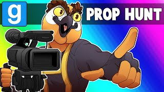 Gmod Prop Hunt Funny Moments - Shooting the Next Superhero Movie!