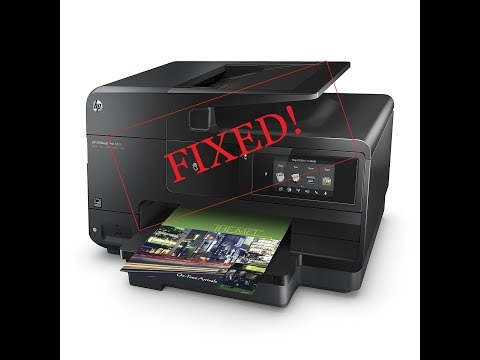 Hp Officejet Pro 8625 - HOW TO CLEAN PRINTHEAD - ⬇️Link in Description⬇️