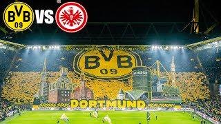 BVB Fans with amazing Choreo against Frankfurt