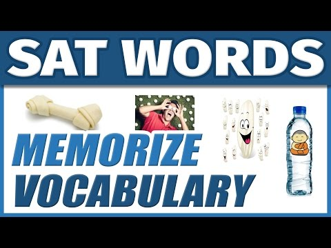 📖 Learn English College Vocabulary SAT Words | How to Memorize Vocab Fast and Easily for Students