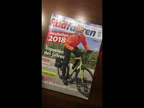 Einblick in die aktiv Radfahren 11-12/2017
