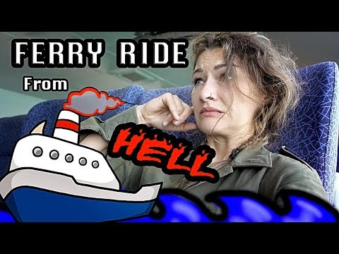 Ferry Ride from HELL !  Adventure riding in Oman and why I don't have children Episode 12